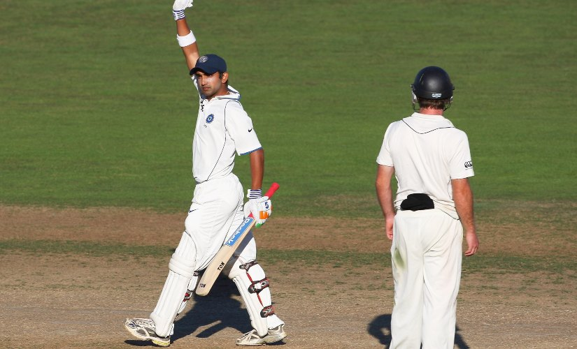 Gautam Gambhir batted for nearly 11 hours, consuming 436 deliveries for his 137 to guide India to a draw at Napier. Getty Images