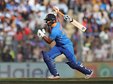 Pant made 28 off 33 balls during India's 255 all out after being sent in to bat by Australia. Sportzpics