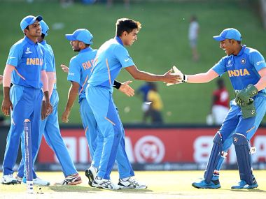 An impressive batting performance, topped by a disciplined bowling, saw defending champions India cruise to a 90-run victory over Sri Lanka. ICC