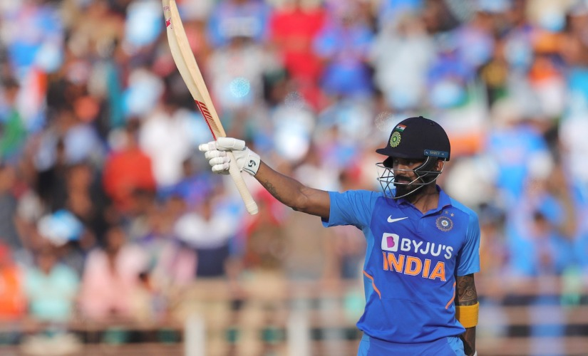 KL Rahul was declared the Player of the Match during Rajkot ODI for his knock of 80 off 52 and his wicket-keeping. Sportzpics
