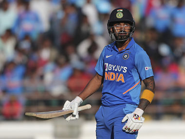 KL Rahul came in at number five in Rajkot and blazed his way to 52-ball 80 to propel India to competitive 340 for six. AP