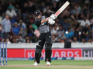 New Zealand's Kane Williamson will miss 4th T20I because of shoulder injury. Photo @ICC