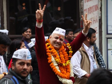 Delhi Assembly polls AAPs Manish Sisodia files nomination from Patparganj Nitin Tyagi and 11 other candidates also enter fray