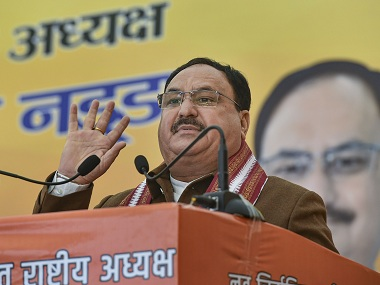 JP Nadda softspoken strategist with decades of organisational experience to helm BJP through electoral challenges