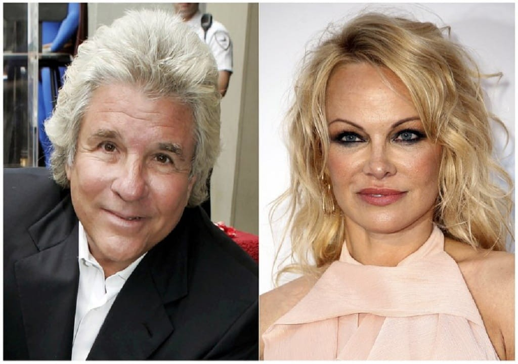 Pamela Anderson marries movie producer Jon Peters in a private ceremony at Malibu