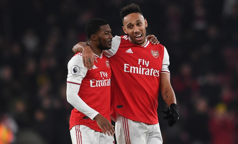 Premier League PierreEmerick Aubameyang inspires Arsenal to special win as Paul Pogbas absence hurts hapless Manchester United