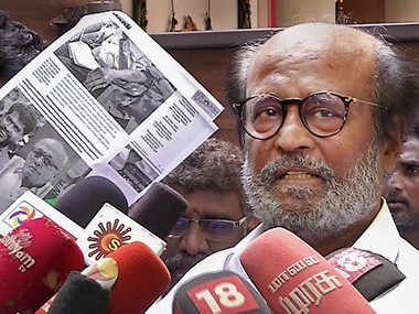 Will not apologise for remark on Periyar rally says Rajinikanth Tamil fringe outfit DVK moves Madras HC demanding FIR against actor