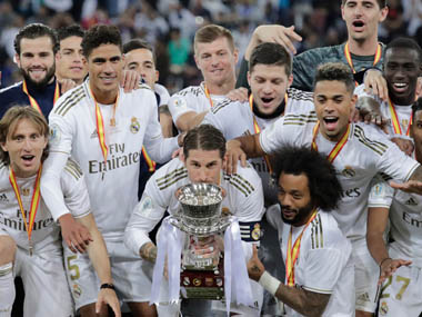 Spanish Super Cup 10man Real Madrid beat city rivals Atletico in penalty shootout to claim title