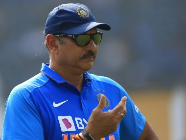 Ravi Shastri Indian cricket coach during the 3rd ODI between India and the West Indies held at the Barabati Stadium, Cuttack on the 22nd December 2019.   Photo by Arjun Singh / Sportzpics for BCCI