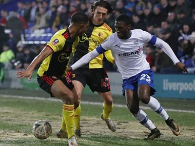 FA Cup Thirdtier club Tranmere Rovers stun Watford in extra time to setup fourthround clash against Manchester United