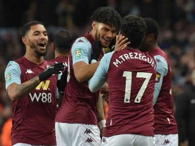 League Cup Trezeguet fires late winner to guide Aston Villa into final with win over Leicester City