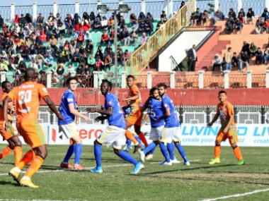 ILeague 201920 Boubacar Diarras goal guides NEROCA FC to victory over Real Kashmir end fourmatch winless run