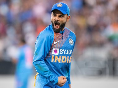 Virat Kohli continues to divide opinions with his on-field behaviour. AP