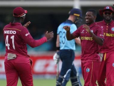 This was West Indies' second win in as many matches. Image: Twitter @cricketworldcup