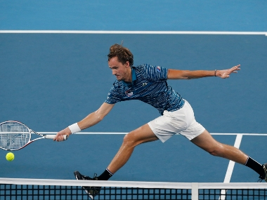ATP Cup 2020 World No 5 Daniil Medvedev beats Argentinas Diego Schwartzman in three sets seals Russias spot in semifinals