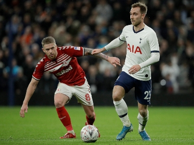 Premier League Christian Eriksen set to feature at Watford as Tottenham yet to receive offer for midfielder