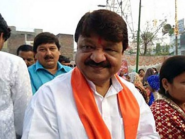 Kailash Vijayvargiya says suspicious of workers nationality because of strange eating habits Opposition says comments reflect BJPs racist communal mindset