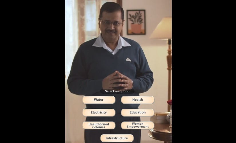 Delhi Assembly Elections 2020 With new website Arvind Kejriwal steps into voters homes to discuss AAP govts accomplishments plans