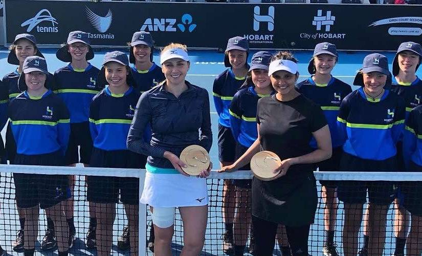 Hobart International 2020 By playing and winning her first tournament after twoyears hiatus Sania Mirza gives lesson in comeback