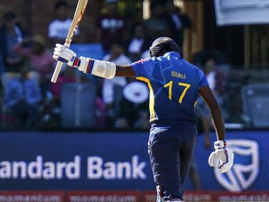 Isuru Udana in a file photo. Source: Twitter/OfficialSLC