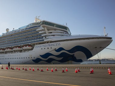Third Indian crew of Diamond Princess cruise ship quarantined off Japanese coast tests positive for <span class=