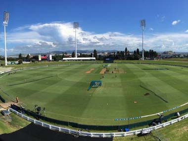 File image of the Bay Oval stadium. Twitter@BLACKCAPS