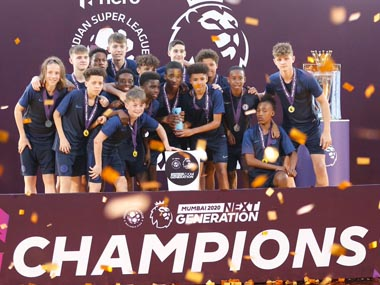Chelsea youth team win Next Generation cup Reliance Foundation Young Champs beat Manchester United in final game