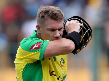 David Warner said his focus would be on the game in the limited-overs fixtures against South Africa, and not on the spectators. AP