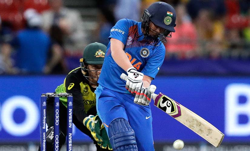 Deepti Sharma's 49 off 46 helped India to a halfway decent total. AP