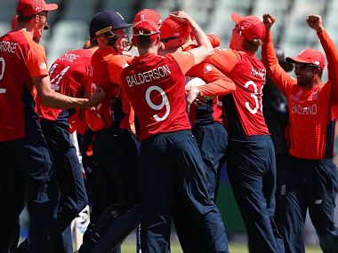 England have successfully clinched the Plate Trophy. ICC Media