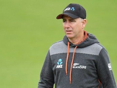 File image of Black Caps head coach Gary Stead. Image credit: Twitter/@ICC