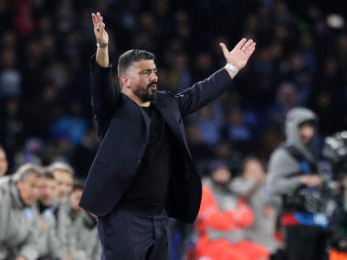 Champions League Gennaro Gattuso says Napoli will buy helmets and armour for Camp Nou fixture against Barcelona