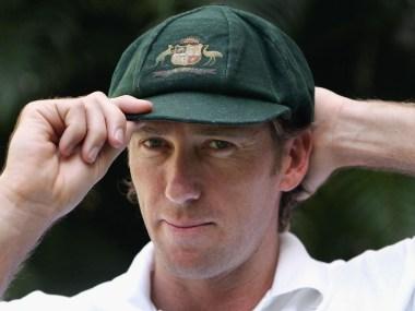 File image of former Australia pacer Glenn McGrath. Image credit: Twitter/@ICC