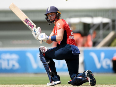File image of England captain Heather Knight. Image credit: Twitter/@ICC