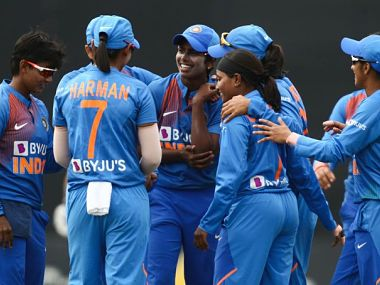 File image of the India women's crickert team. Twitter @ICC