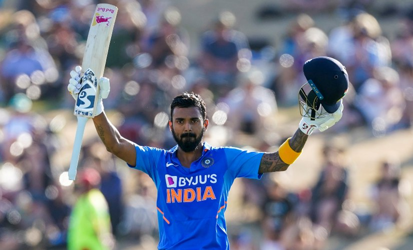 KL Rahul has proved to be a revelation for India batting at No 5. AP