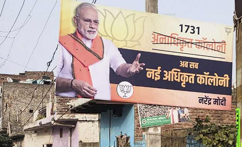 Delhi Election 2020 Despite Narendra Modi push BJP failed to make hay from regularisation of colonies heres why