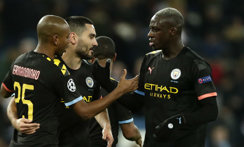 Champions League Manchester City set aside offfield issues in clinical takedown of Real Madrid Lyon stun underpar Juventus