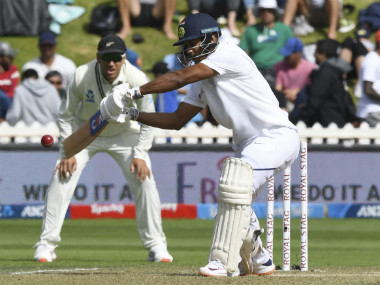 Mayank Agarwal (58) was the pick of the Indian batters on Day 2 of the first Test against New Zealand. AP