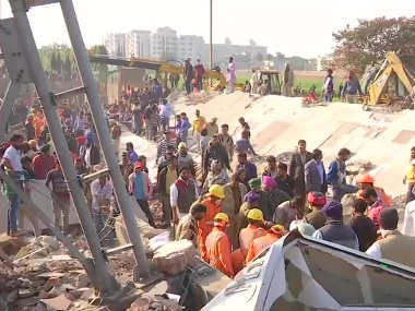 One dead after commercial building collapses in Punjabs Mohali rescue ops underway Amarinder Singh orders probe