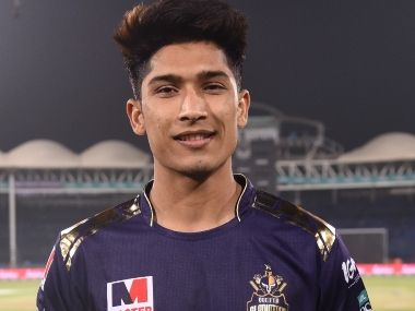 Mohammad Hasnain impressed with figures of 4-25 for Quetta Gladiators. Image: @thePSLt20