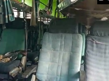 Nine die of electrocution 22 injured in Odishas Ganjam after bus comes into contact with live wire catches fire