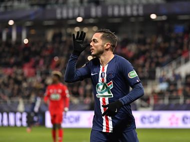 French Cup Pablo Sarabia nets brace as Paris SaintGermain complete thumping win over Dijon to seal semifinal spot