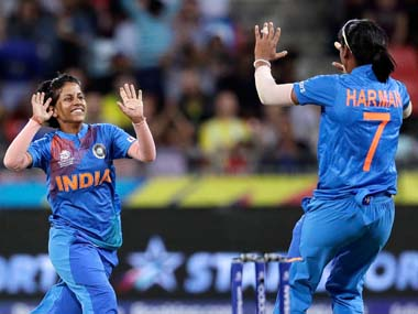 Poonam Yadav is the tournament's leading wicket-taker with nine scalps. AP