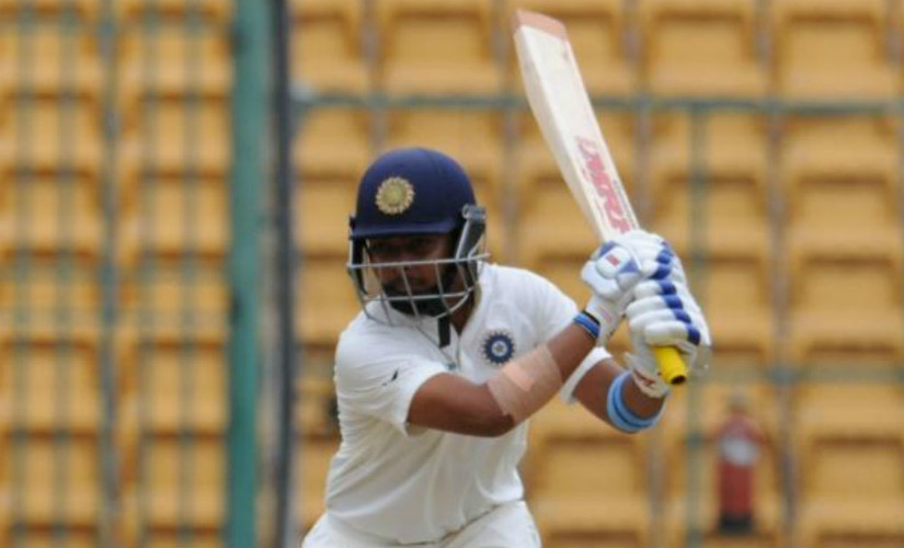 As indicated by skipper Virat Kohli, Prithvi Shaw is likely to partner Mayank Agarwal ahead of the uncapped Shubman Gill for the opening slot. Twitter/@BCCI
