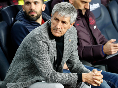 LaLiga El Clasico more important for Real Madrid than Barcelona says Barca manager Quique Setien