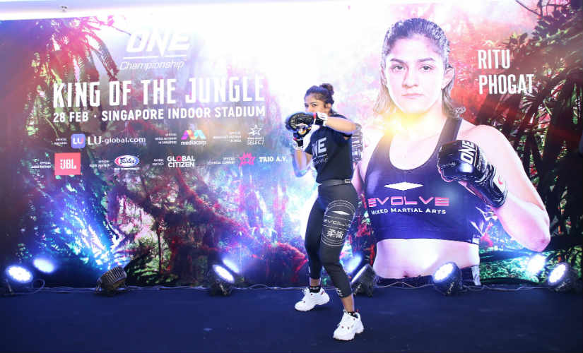 Strike force and wrestling basics on her side Ritu Phogat aims for firstround knockout in her second MMA bout