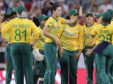 South Africa triumphed over England by six wickets. ICC Media