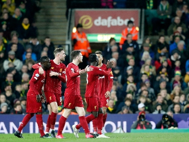 Premier League Sadio Manes sublime secondhalf strike headline Liverpools win over Norwich City to go 25 points clear