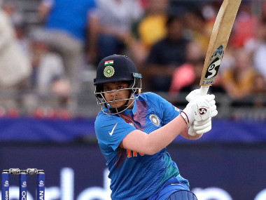 Shafali Verma slammed a 17-ball 39 against Bangladesh to lay the foundation for India putting up a competitive 150 on the board. AP